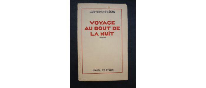 celine   voyage au bout de la nuit - first edition