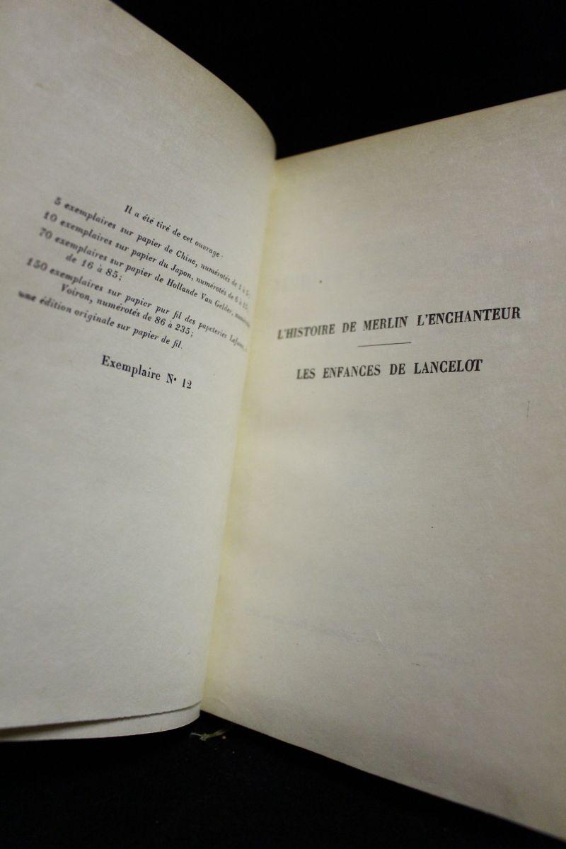 Boulenger Les Romans De De La Table Ronde Edition Originale Edition