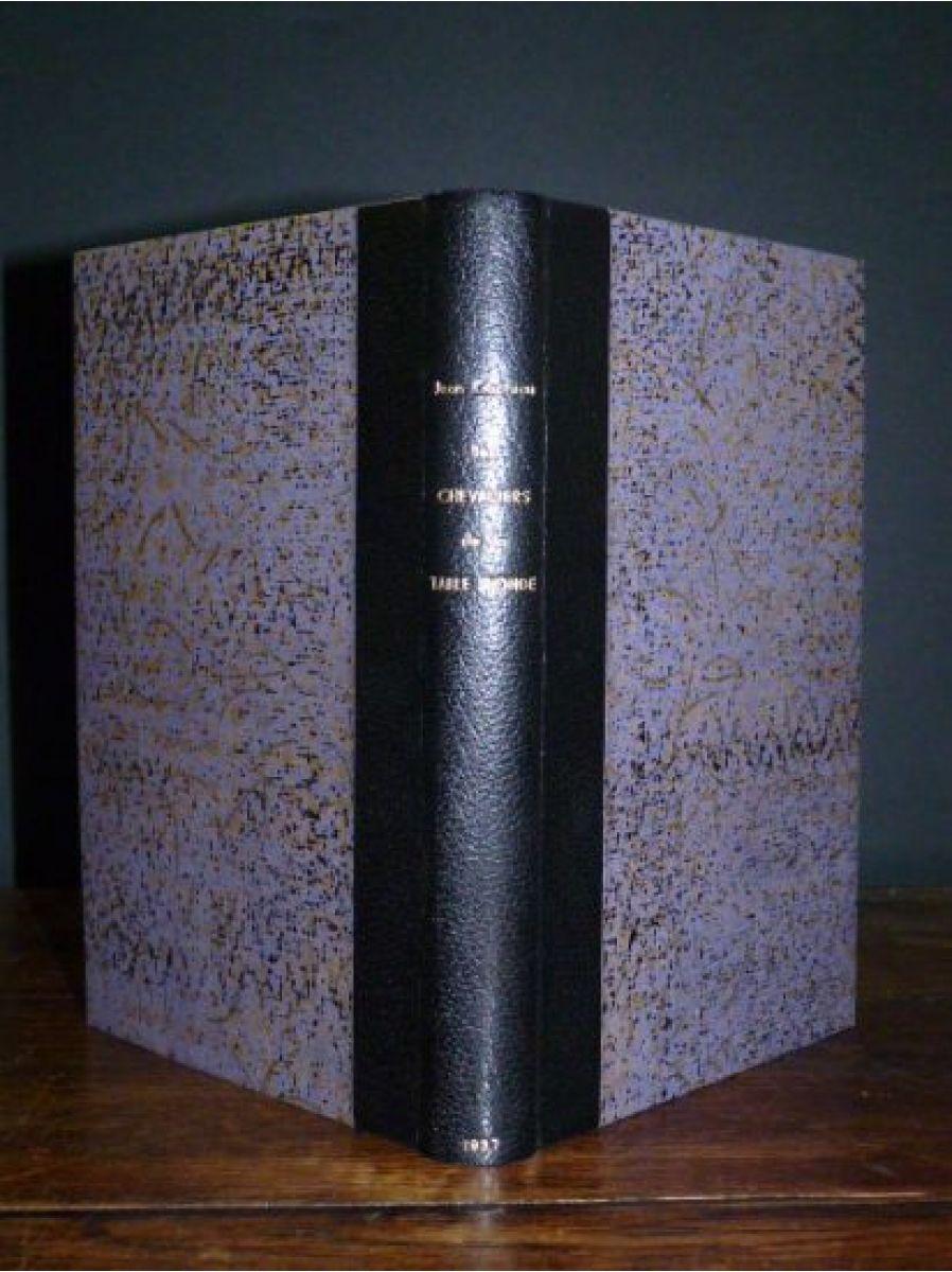 cocteau les chevaliers de la table ronde autographe edition originale edition originale