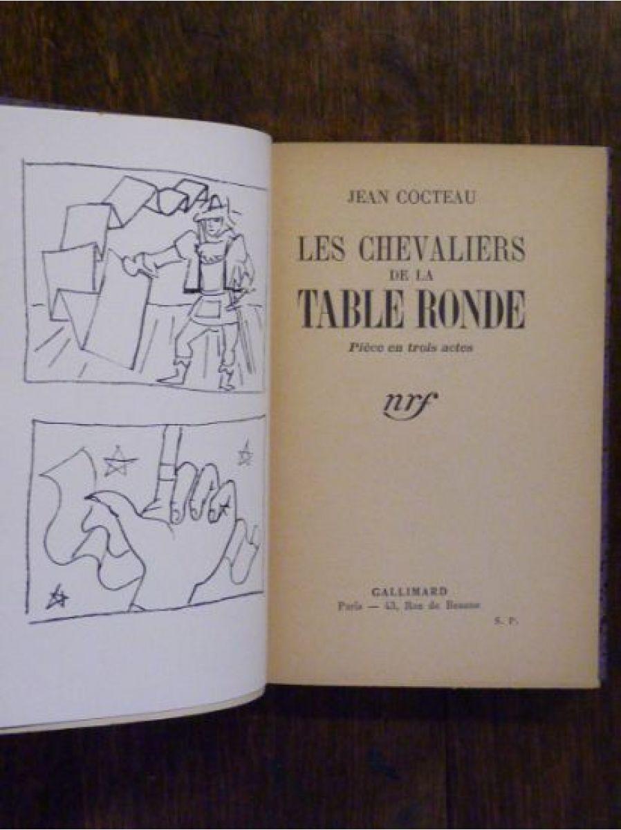 Cocteau les chevaliers de la table ronde autographe - Histoire des chevaliers de la table ronde ...