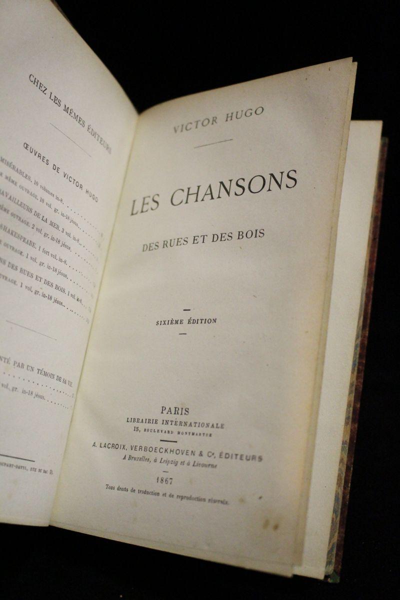 HUGO : Chansons Des Rues Et Des Bois