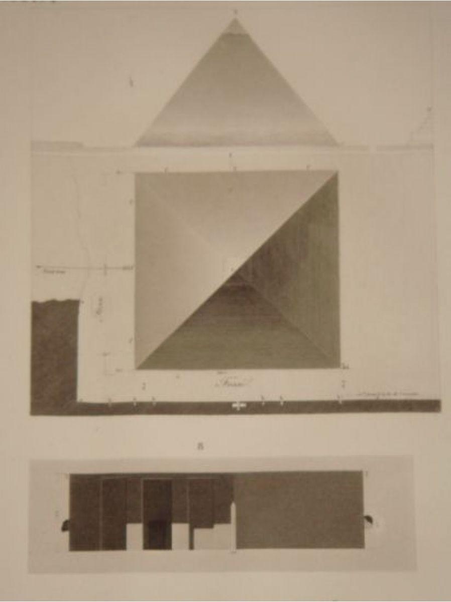 Jomard description de l 39 egypte pyramides de memphis for Memphis plan