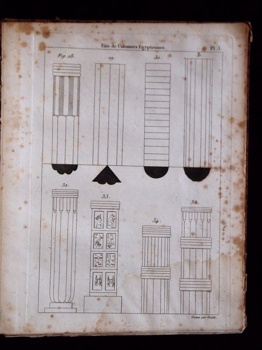 Quatremere de quincy de l 39 architecture gyptienne for Architecture egyptienne