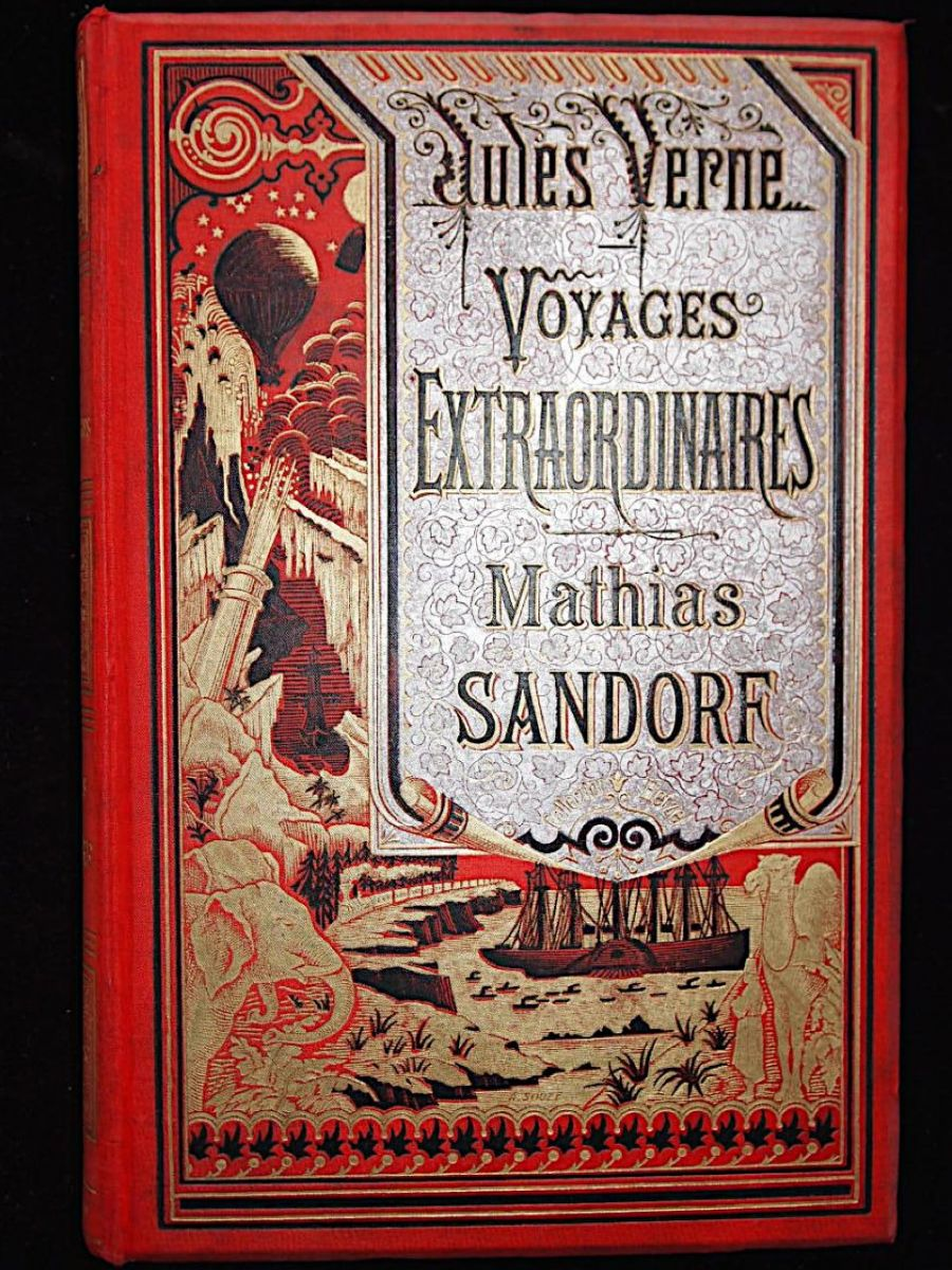 verne mathias sandorf edition originale edition. Black Bedroom Furniture Sets. Home Design Ideas