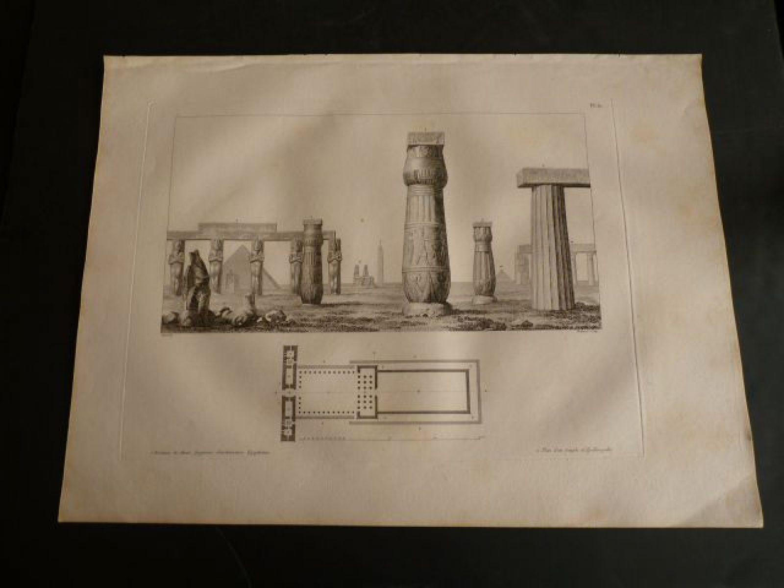 Vivant denon voyage dans la basse et haute egypte 1 for Architecture egyptienne