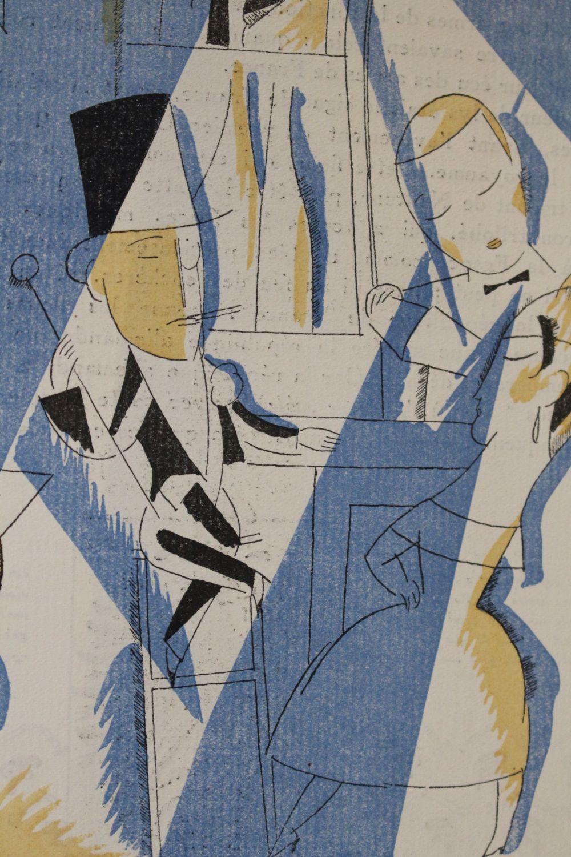cocteau le boeuf sur le toit la gazette du bon ton 1920 first edition edition. Black Bedroom Furniture Sets. Home Design Ideas