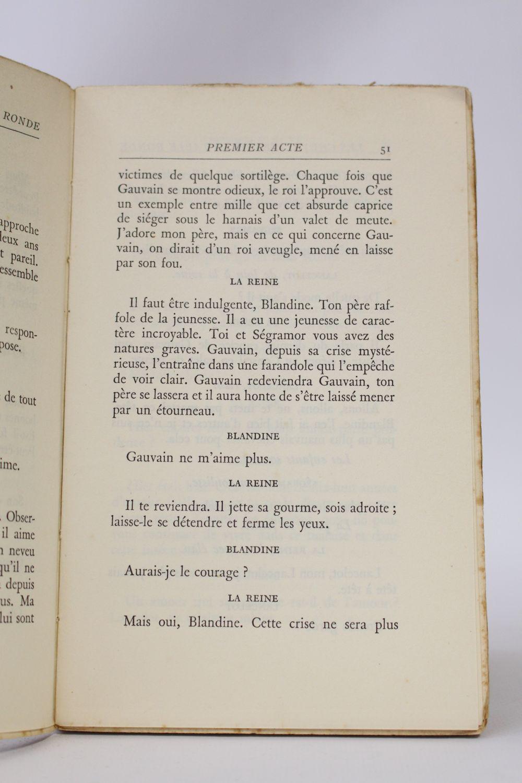Cocteau Les Chevaliers De La Table Ronde Edition Originale Edition