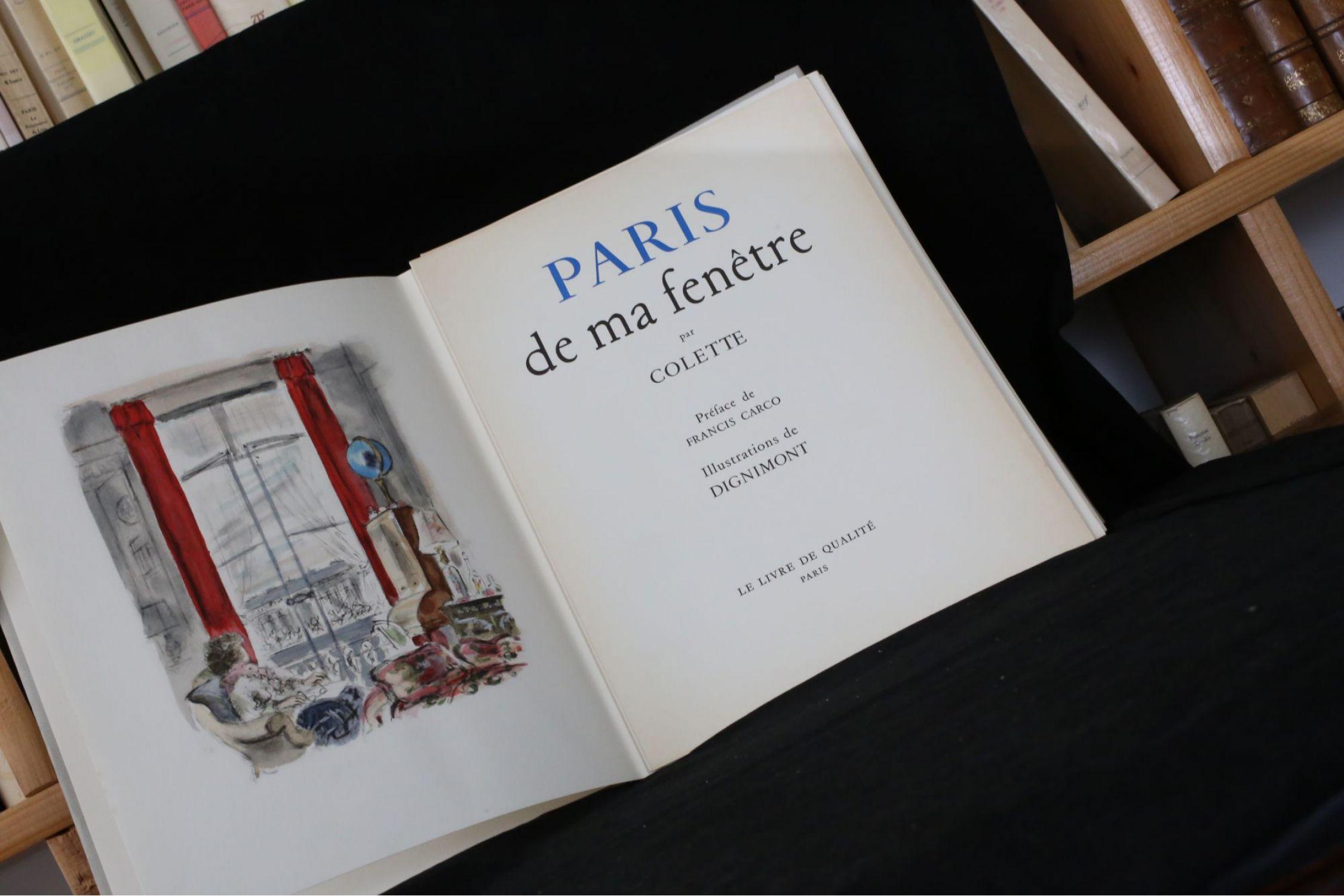 Colette paris de ma fen tre edition for Ahae de ma fenetre