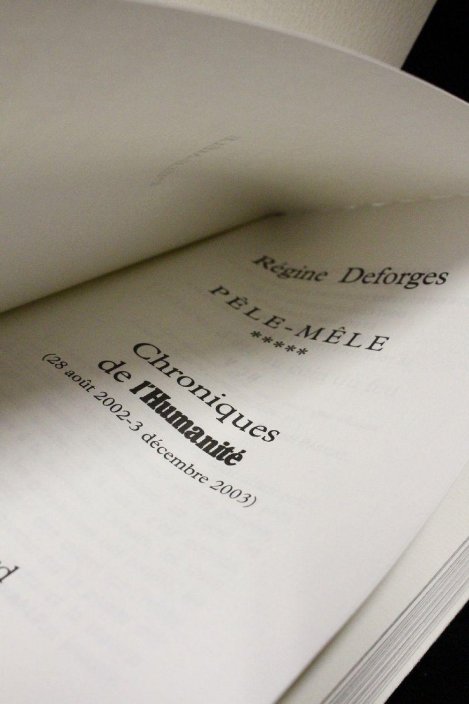 Deforges p le m le chroniques de l 39 humanit edition originale edition for Pele mele photo en ligne
