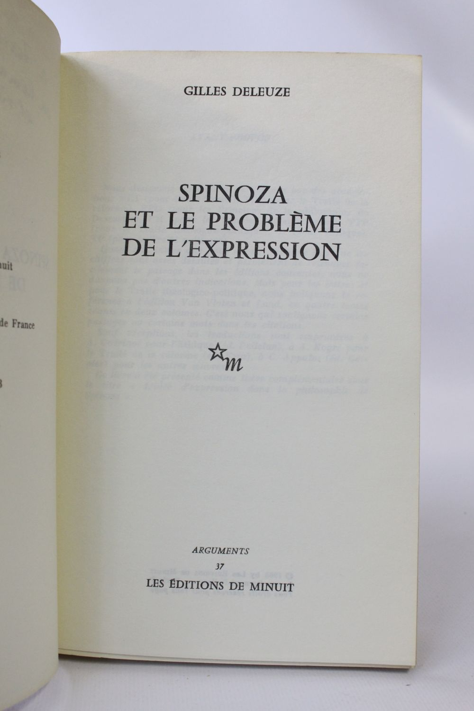 Gilles Deleuze - Spinoza : Immortalité Et Éternité