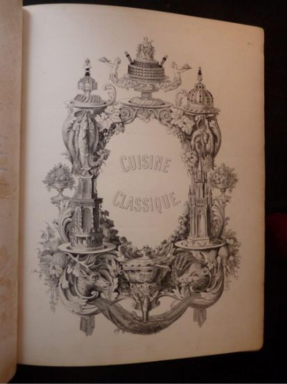Dubois la cuisine classique etudes pratiques - L art de la cuisine francaise ...