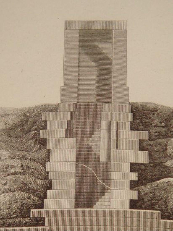Elevation D Un Plan : Girard description de l egypte ile d ÉlÉphantine plan