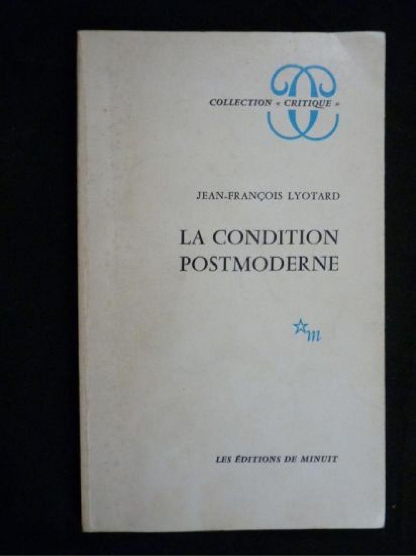 lyotard the postmodern condition pdf