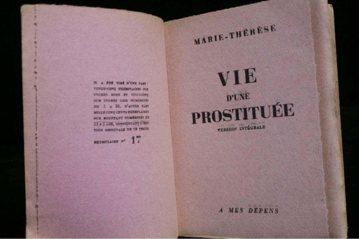 histoire d une prostituée