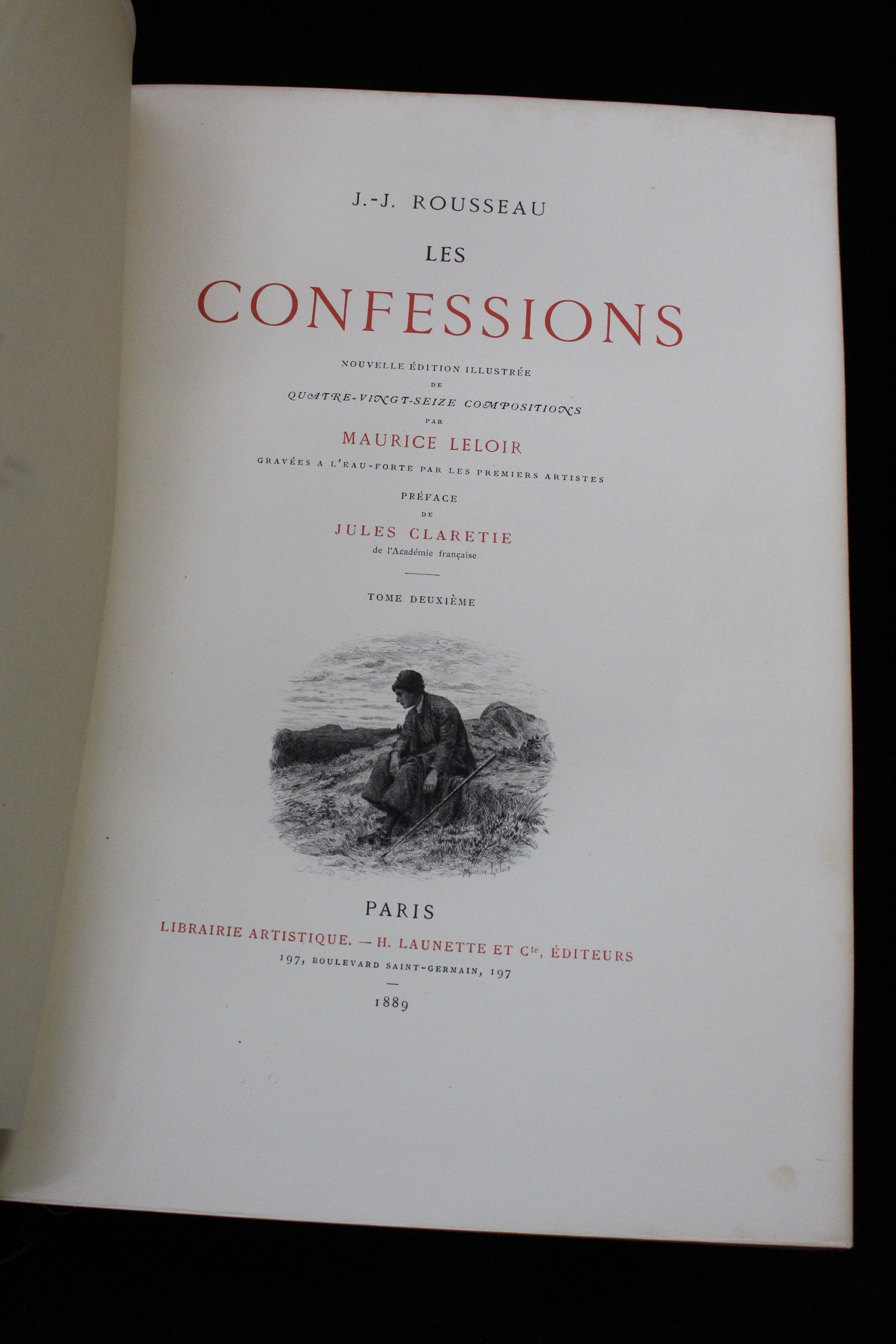 rousseau confessions essay Rousseau's confessions is controversial and influential since its first publication replies to critics and essays on the origin of languages, translated by.