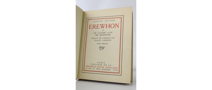 Erewhon Critical Essays