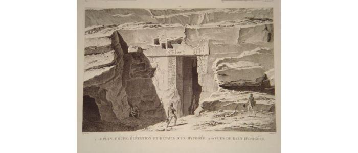 Elevation Plan Description : Description de l egypte syout lycopolis plan coupe