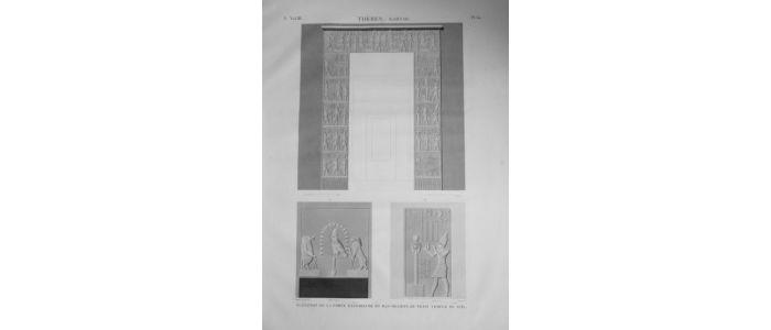 Description de l 39 egypte th bes karnak l vation de la - La porte exterieure ...