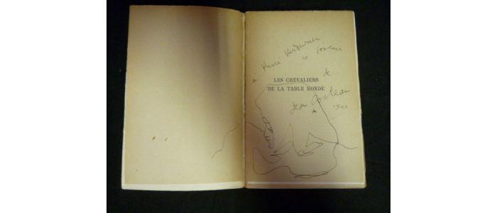 Cocteau Les Chevaliers De La Table Ronde Signed Book First
