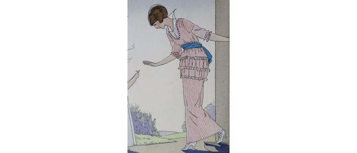 DOEUILLET : La Première Fleur du jardin. Robe printanière de ...