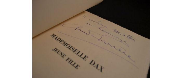 FARRERE : Mademoiselle Dax jeune fille - Signed book