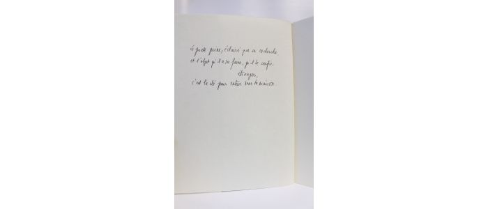 Frenaud Haeres Poèmes 1968 1981 Signed Book First