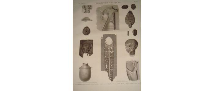 dubois ayme description de l 39 egypte collection d 39 antiques fragments de bas reliefs. Black Bedroom Furniture Sets. Home Design Ideas