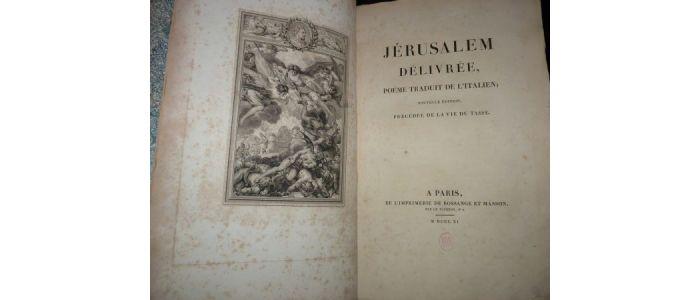 Le Tasse Jérusalem Délivrée Poëme Traduit De Litalien