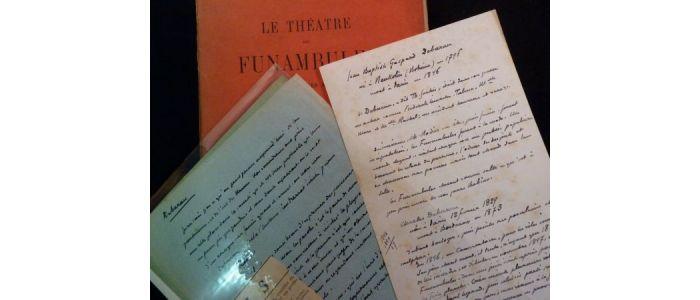 Leautaud Le Théâtre Des Funambules Ses Mimes Ses