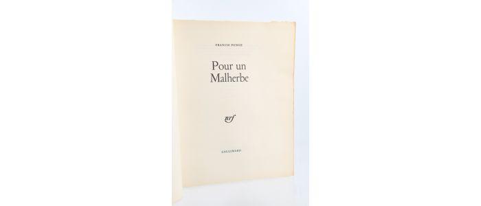 ponge pour un malherbe edition originale edition. Black Bedroom Furniture Sets. Home Design Ideas