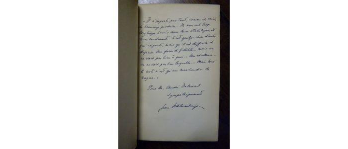 Edition Schlumberger Saturnin Saint Originale Autographe nnCOZWax