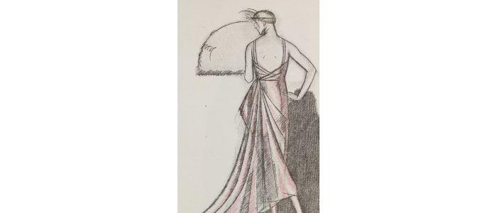 Worth Une Robe Du Soir De Worth Pl 39 La Gazette Du Bon Ton 1920 N