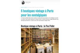 6 vintage shops in Paris for the nostalgic