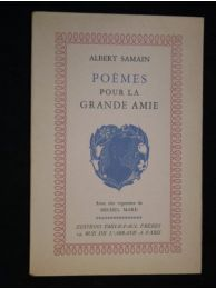 Samain po mes pour la grande amie edition originale for Albert samain la cuisine