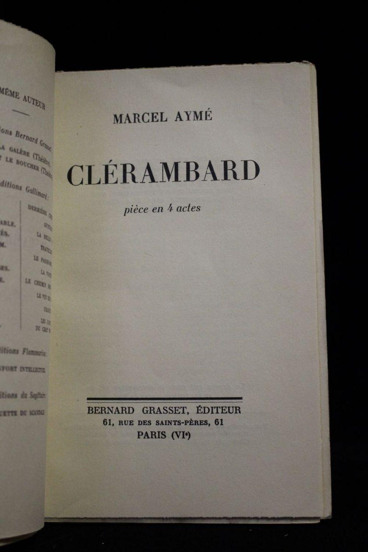 ayme cl rambard autographe edition originale edition. Black Bedroom Furniture Sets. Home Design Ideas