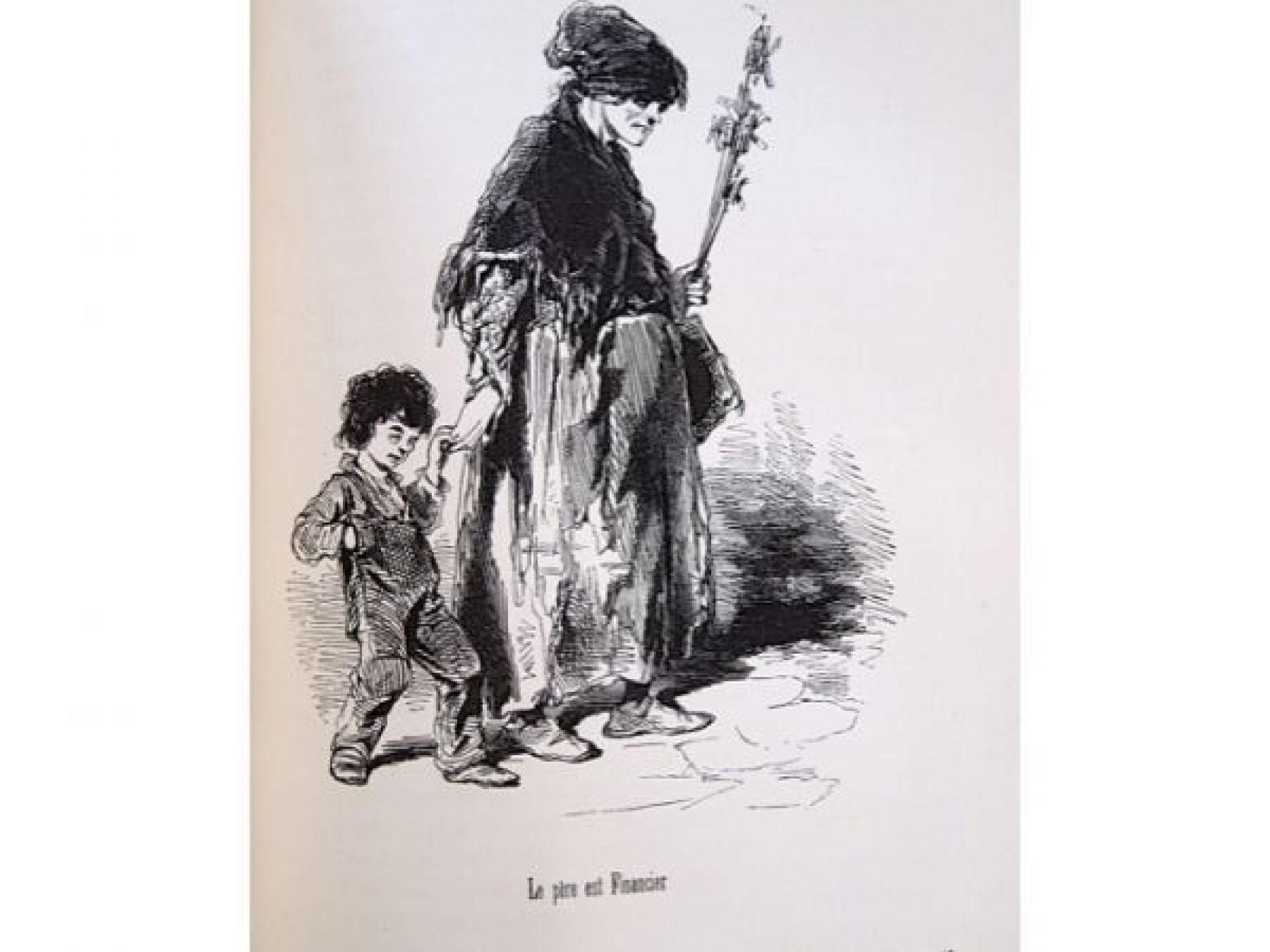 Balzac le tiroir du diable paris et les parisiens for Le miroir du diable