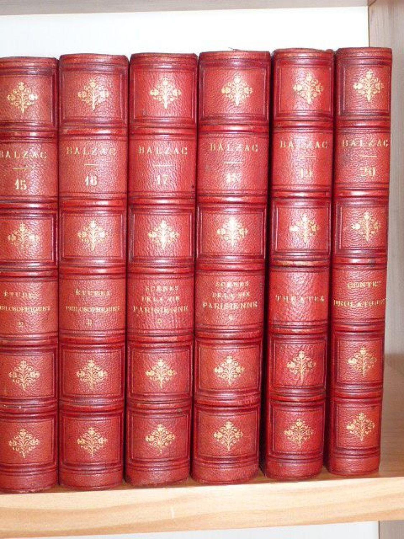 Balzac oeuvres compl tes edition - Cabinet honore de balzac ...