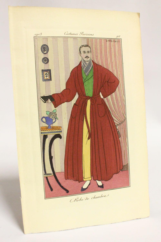 Costumes parisiens. Robe de chambre [modèle homme] (pl.96, Journal ...
