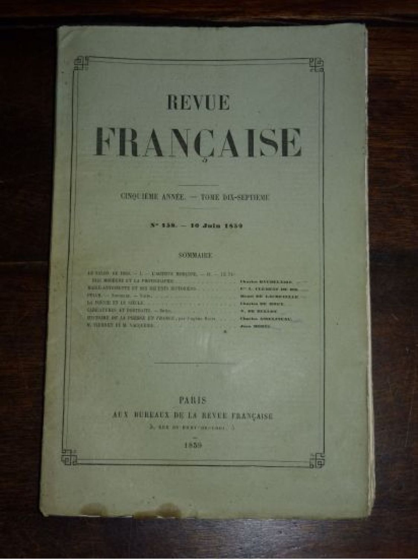 Baudelaire le salon de 1859 i l 39 artiste moderne ii - Le salon de la photo ...