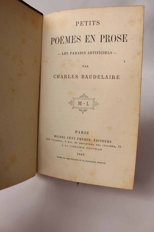 Baudelaire Petits Poèmes En Prose Les Paradis