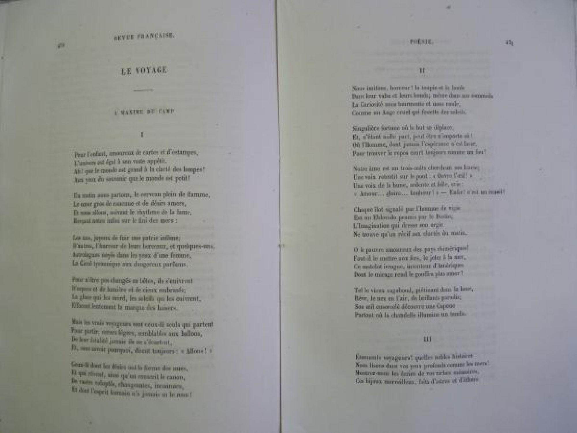 Baudelaire Poésie Sisina Le Voyage Lalbatros