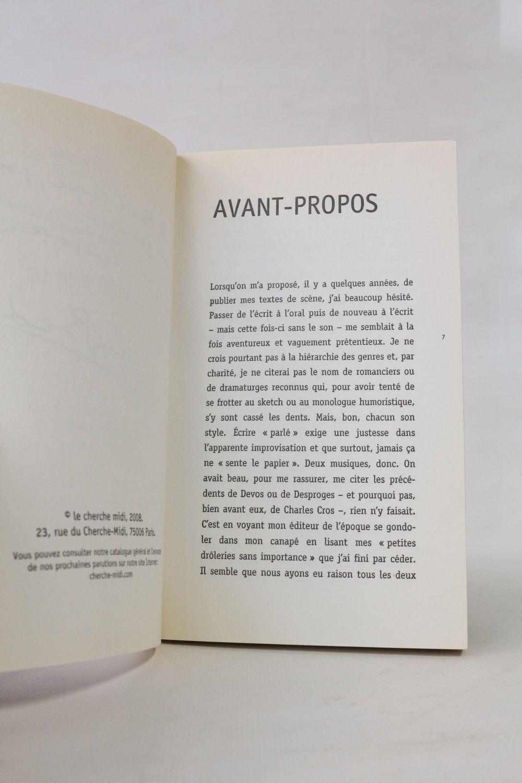 23 Rue Du Cherche Midi bedos : sarko & co - signed book, first edition - edition