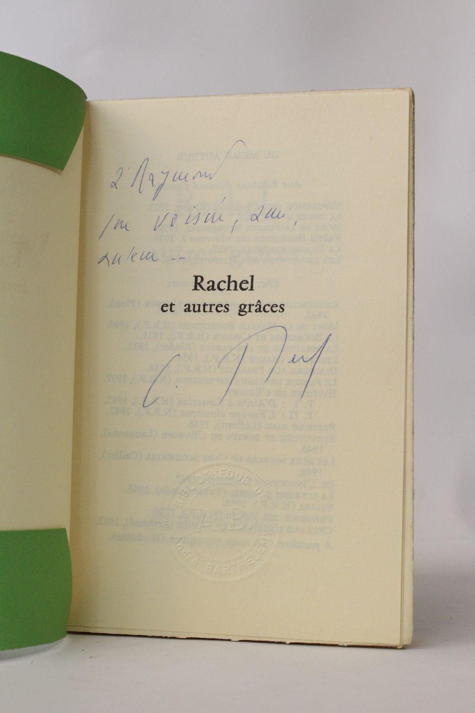 Berl rachel et les autres gr ces autographe edition for Cuisinier raymond oliver