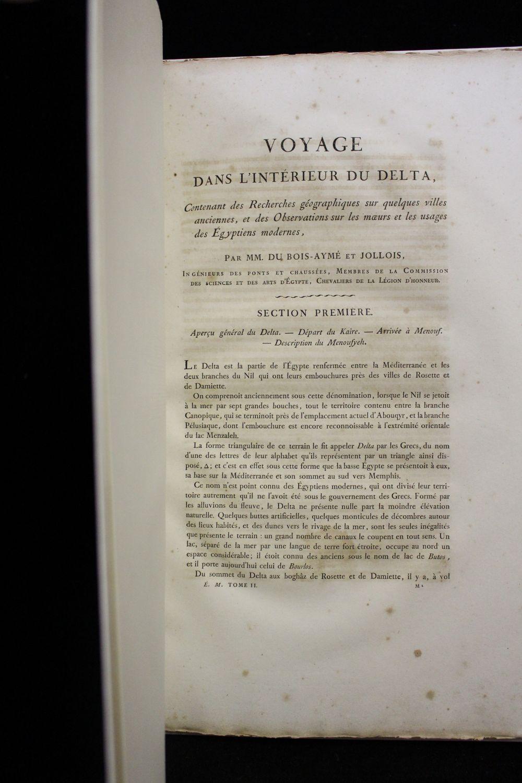 dubois ayme description de l 39 egypte voyage dans l 39 int rieur du delta concernant des. Black Bedroom Furniture Sets. Home Design Ideas