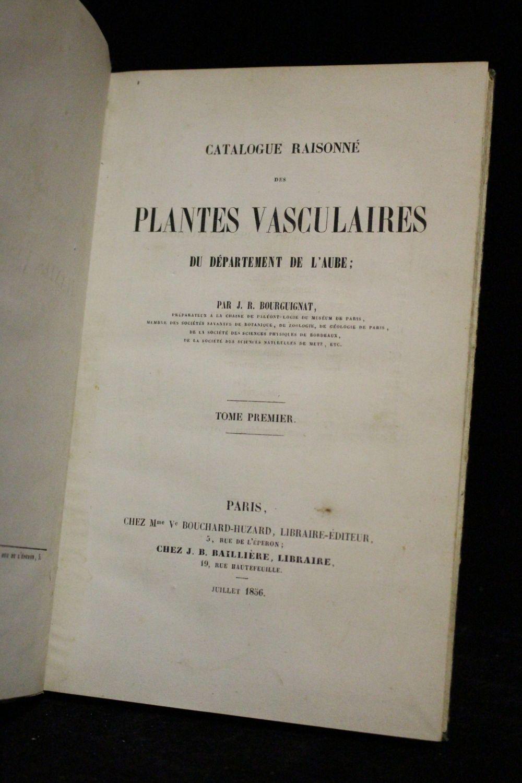 Bourguignat catalogue raisonn des plantes vasculaires for Catalogue de plantes