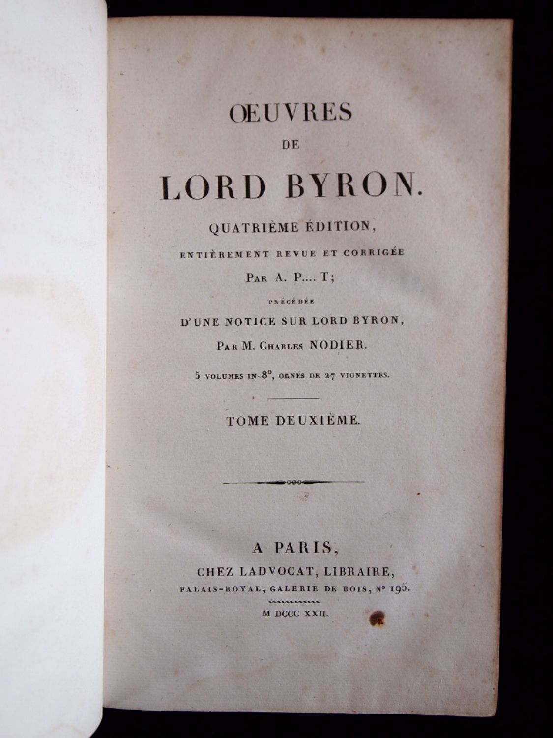 literary analysis of lord george gordon Lord byron: the major works (oxford world's classics) [george gordon lord   shelley's poetry and prose (norton critical edition)  write a customer review.