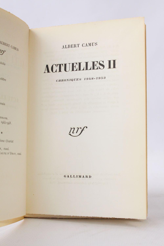 ACTUELLES CAMUS PDF