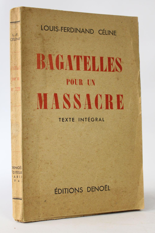 bagatelle pour un massacre