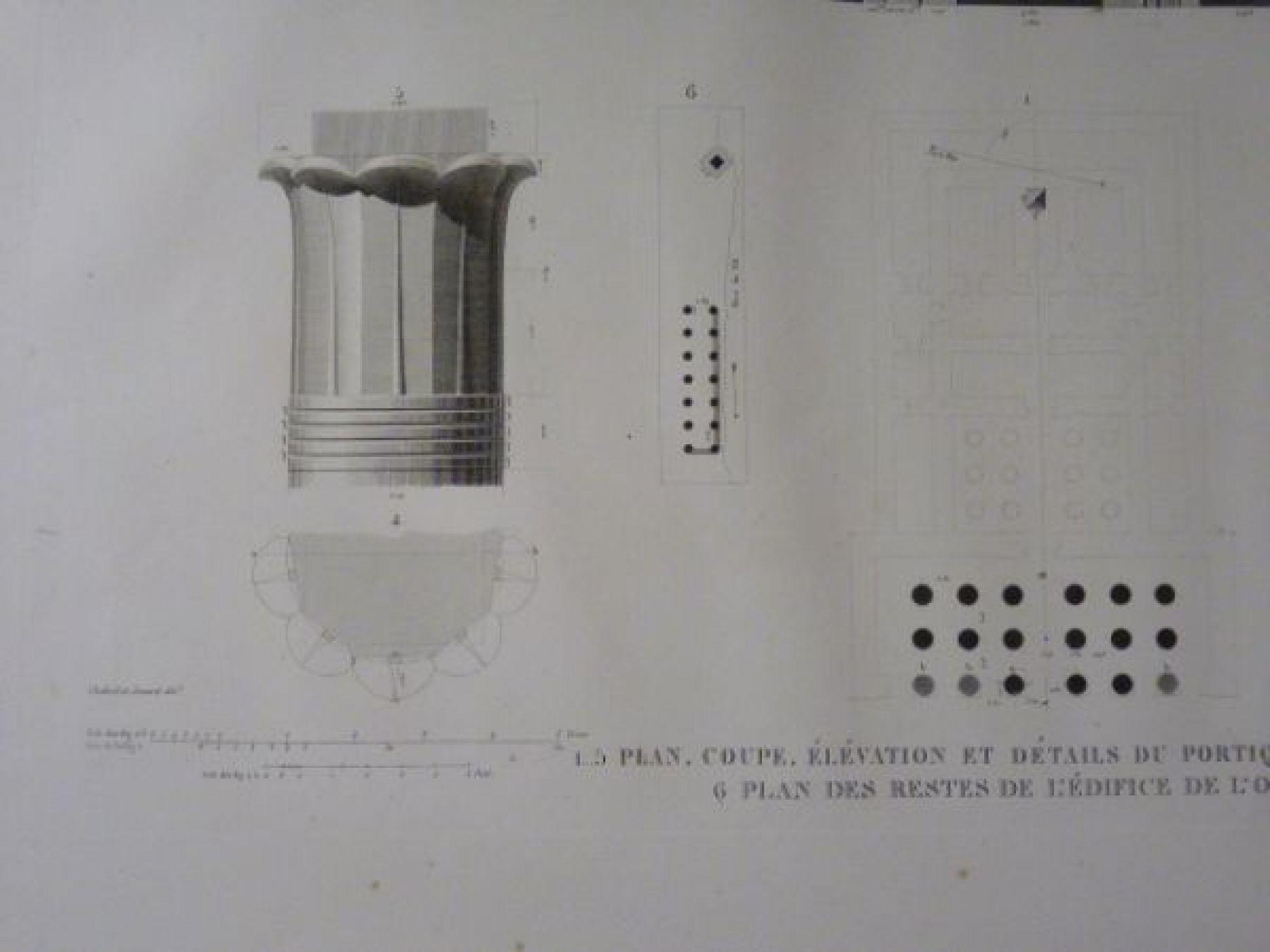 Elevation Plan Description : Description de l egypte q ou el kebyreh antaeopolis