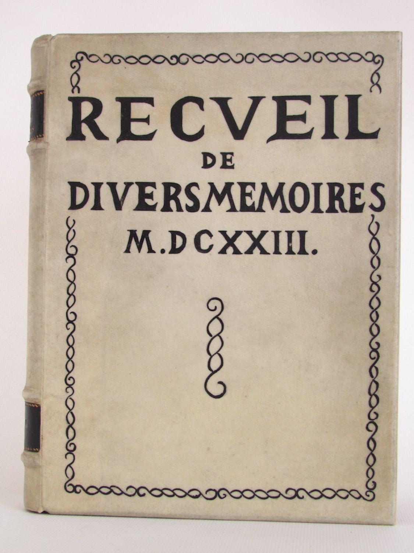 Chevalier Recueil De Divers Memoires Harangues Remonstrances Et